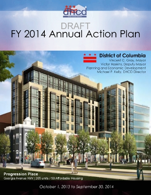 FY 2014 Annual Action Plan Cover Image