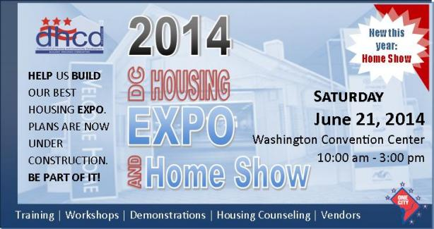 2014 DC Housing Expo and Home Show information