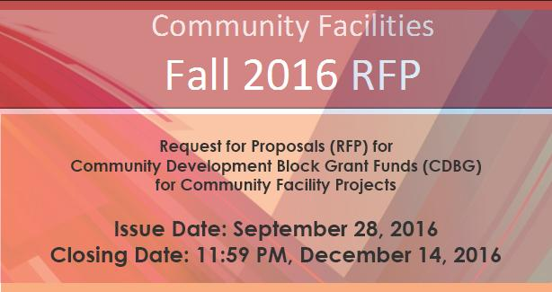 Community Facilities RFP