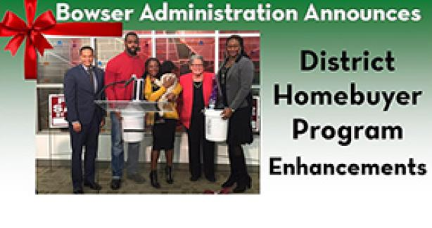 District Homebuyer Program Enhancements