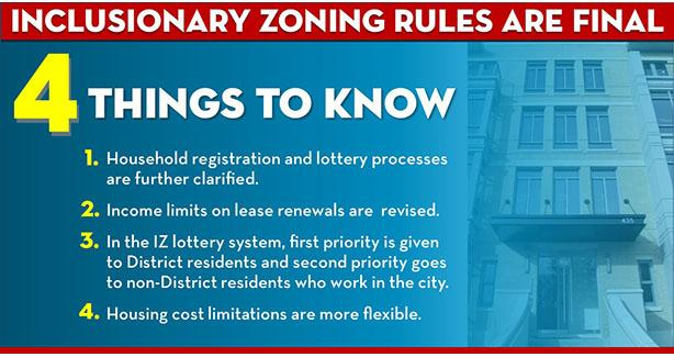 Rules that Simplify, Improve Inclusionary Zoning Program Now in Full Effect