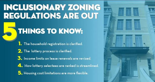 New Regulations Improve Inclusionary Zoning Program