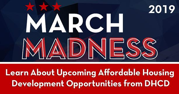 DHCD Previews Projects at March Madness