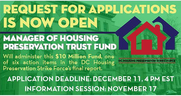 DHCD Is Now Seeking Preservation Fund Manager