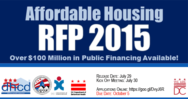 DHCD RFP 2015 Announcement graphic