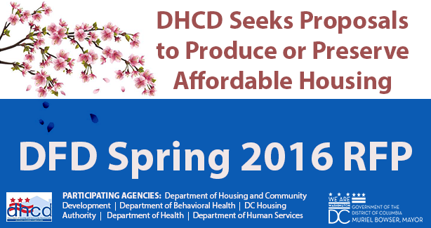 DHCD Spring 2016 RFP graphic
