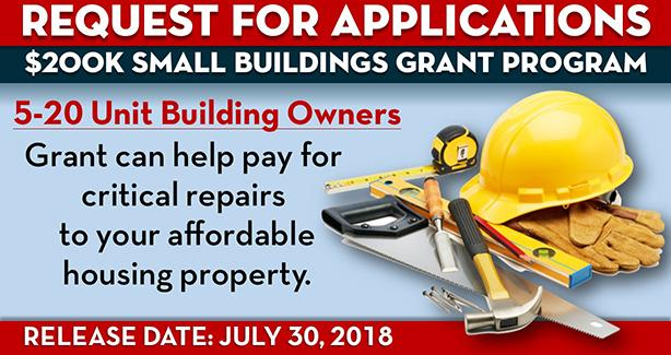 New $200K Grant Program to Help Small Building Owners Make Critical Repairs