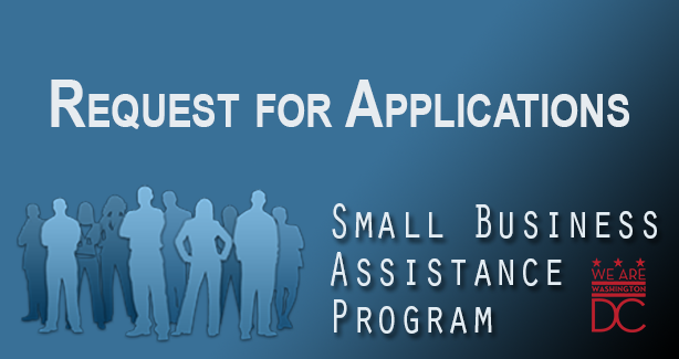 DHCD FY 2016 Small Business Assistance Program RFA image