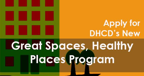 Great Spaces, Healthy Places Program info