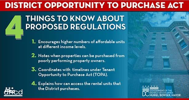Image for Proposed Regulations Issued on District Opportunity to Purchase Act (DOPA)