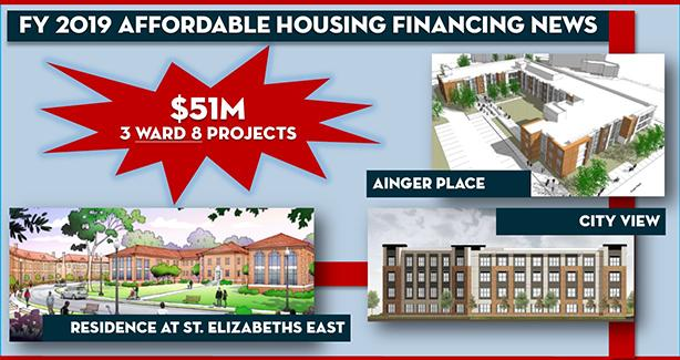 FY 2019 Affordable Housing Financing Starts Big with $51 Million Investment in Ward 8