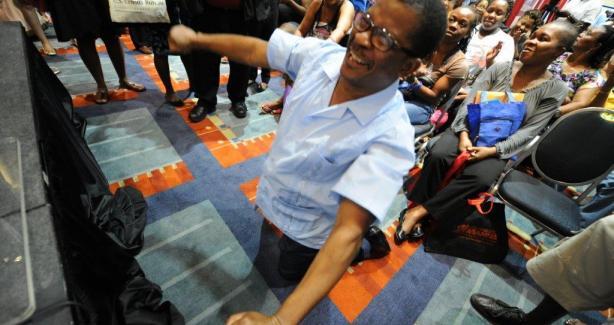 Housing Lottery Winner George Adeoye-Jumbo