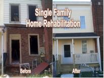 Rehabilitated House - Before and After